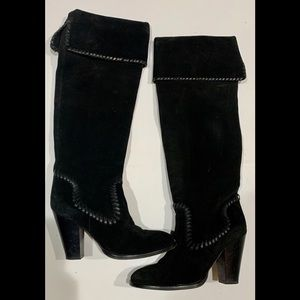 Michael Kors suede tall boot. Size 6 1/2